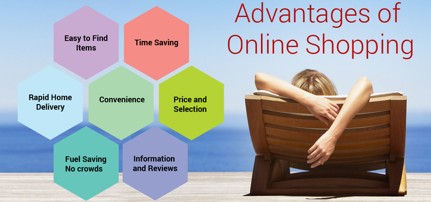 The Benefits of Shopping Online