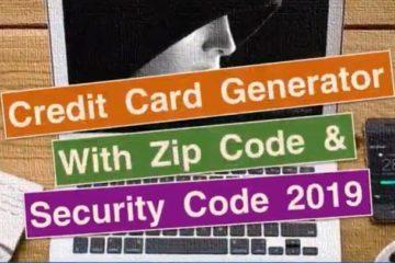 Best Credit Card Generator Services 2019 - BIN Codes - CCard
