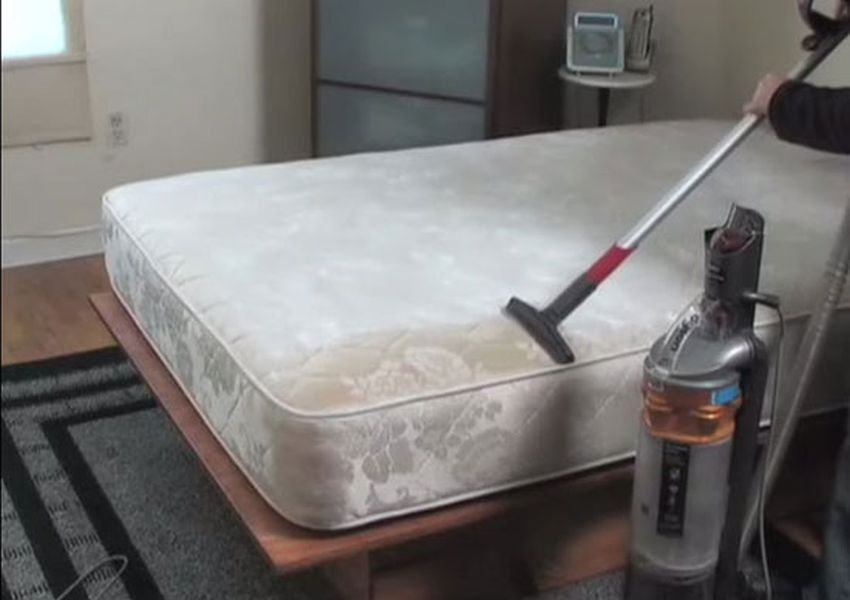 Vacuum your memory foam