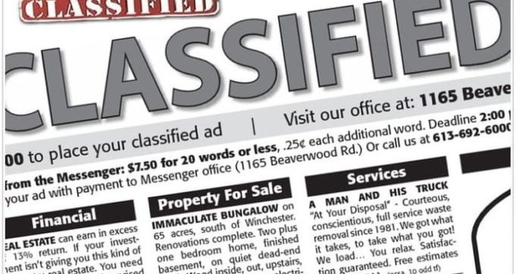 Green acres classified ads