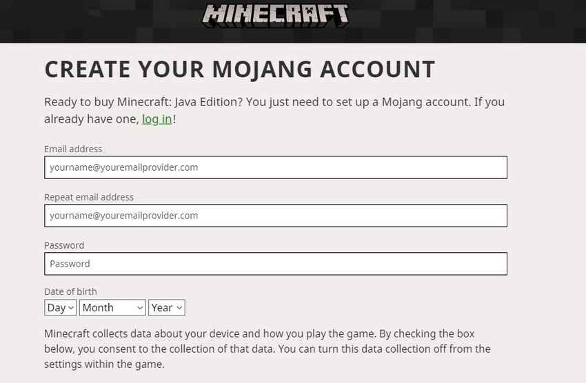 How To Sign Into Minecraft With Mojang Account