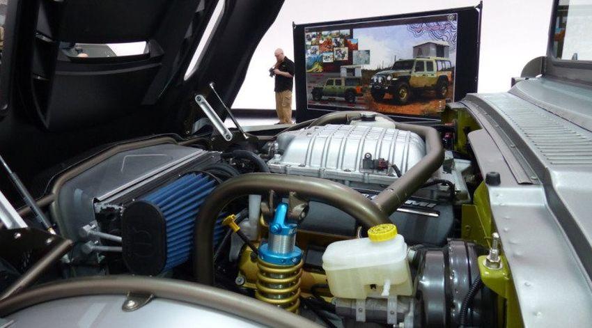 Jeep M-715 Five-Quarter Engine