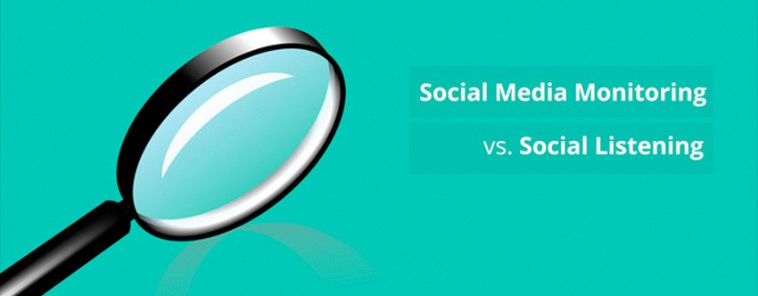 The Difference Between Social Monitoring and Social Listening